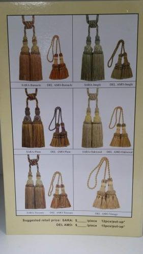 Chair tie & Tieback tassels