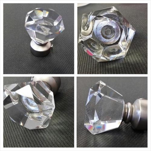 crystal finial diamond